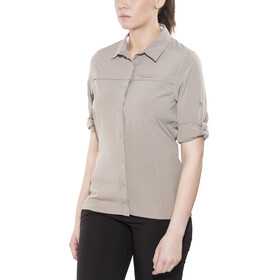 Craghoppers NosiLife Pro Maglietta a maniche lunghe Donna Long Sleeved beige